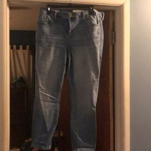 Girlfriend button fly jeans size 16
